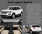 Foto venta carro usado Ford Explorer Limited 4x4  (2016) color Blanco precio BoF380.000.000