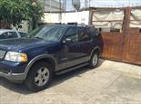 Foto venta Auto usado Ford Explorer XLT 4x4 4.6L Sport V8 (2005) color Azul Marino precio $60,000