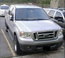 Foto venta carro usado Ford F-150 XL Auto. 4x4 (2007) color Gris Plata  precio u$s4.500