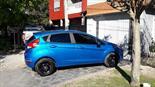 Foto venta Auto Usado Ford Fiesta Kinetic S (2015) color Azul Mediterraneo precio $235.000