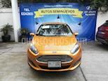 Foto venta Auto Seminuevo Ford Fiesta Sedan SE (2017) color Naranja Electrico precio $180,000