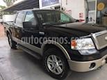 Foto venta Auto usado Ford Lobo Doble Cabina Lariat 4x4 (2008) color Negro Profundo precio $180,000
