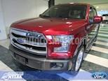 Foto venta Auto Seminuevo Ford Lobo LOBO LARIAT 4x4 Doble Cabina (2016) color Rojo precio $595,000