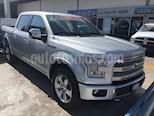 Foto venta Auto Seminuevo Ford Lobo LOBO PLATINUM 4x4 Doble Cabina (2015) color Plata precio $585,000