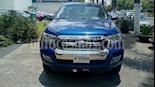 Foto venta Auto Usado Ford Ranger XLT 4x2 Cabina Doble (2017) color Azul Espacio precio $369,000