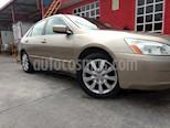 Foto venta Auto usado Honda Accord EX 2.4L (2003) color Champagne precio $69,000