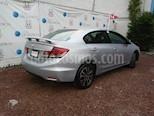 Foto venta Auto Seminuevo Honda Civic EX Aut (2013) color Plata Diamante precio $195,000