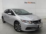 Foto venta Auto Usado Honda Civic EX (2014) color Plata Diamante precio $189,000