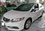 Foto venta Auto Seminuevo Honda Civic LX 1.8L Aut (2014) color Blanco Marfil precio $187,000