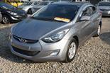 Hyundai Elantra  GLS 1.6L usado (2013) color Plata precio u$s11,500