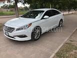 Foto venta Auto usado Hyundai Sonata GLS (2016) color Blanco precio $223,000