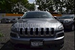 Foto venta Auto Usado Jeep Cherokee Latitude (2015) color Plata Martillado precio $298,000