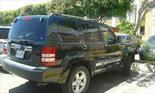 Foto venta carro usado Jeep Cherokee Limited 3.7L Aut 4x4 (2011) color Verde precio u$s6.500