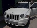 Foto venta Auto usado Jeep Compass 4x2 Base (2009) color Blanco precio $115,000