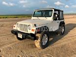 Foto venta Auto Seminuevo Jeep Wrangler SE Techo Lona (2005) color Blanco precio $189,000