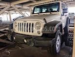 Foto venta Auto Seminuevo Jeep Wrangler Sport MTX 4x4 3.6L (2014) color Beige precio $330,000
