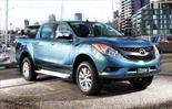 Foto venta carro usado Mazda BT-50 2.6L High 4x4 (2015) color Platino precio u$s45.000.000