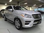 Foto venta Auto Seminuevo Mercedes Benz Clase M ML 350 Sport (2014) color Plata precio $515,000