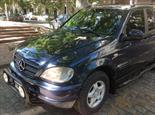 Foto venta Auto Usado Mercedes Benz M ML 270 Luxury CDI Aut TD (2000) color Azul Adriatico precio $220.000