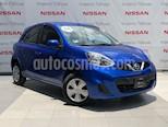 Foto venta Auto Usado Nissan March Sense (2018) color Azul Electrico precio $157,000