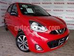 Foto venta Auto Seminuevo Nissan March SR NAVI (2016) color Rojo precio $173,000