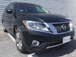 Foto venta Auto Seminuevo Nissan Pathfinder Exclusive (2015) color Negro precio $395,000