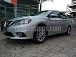 Foto venta Auto Seminuevo Nissan Sentra Advance Aut (2017) color Plata precio $189,000