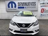 Foto venta Auto Seminuevo Nissan Sentra Advance (2017) color Blanco precio $219,900