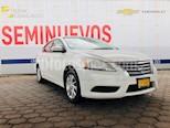 Foto venta Auto Seminuevo Nissan Sentra Sense Aut (2016) color Blanco precio $178,000