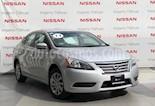 Foto venta Auto Seminuevo Nissan Sentra Sense Aut (2014) color Plata precio $165,000