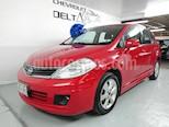 Foto venta Auto Seminuevo Nissan Tiida HB Emotion Aut (2011) color Rojo precio $104,950