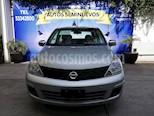 Foto venta Auto Seminuevo Nissan Tiida Sedan Sense Aut (2017) color Plata Brillante precio $157,500
