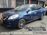 Foto venta Carro Usado Nissan Versa Advance (2013) color Azul precio $30.500.000