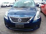 Foto venta Auto Seminuevo Nissan Versa Advance (2014) color Azul precio $134,000