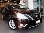 Foto venta Auto Seminuevo Nissan Versa Advance (2017) color Negro precio $193,000