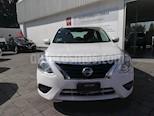 Foto venta Auto Usado Nissan Versa Sense Aut (2015) color Blanco precio $155,000
