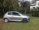 Foto venta Auto usado Peugeot 206 1.6 XR Pack 3P (2003) color Gris Plata  precio $89.900