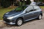 Foto venta Auto usado Peugeot 206 1.6 XS Premium 5P (2007) color Gris Aluminium precio $105.000