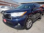 Foto venta Auto Seminuevo Toyota Highlander XLE (2015) color Azul precio $420,000