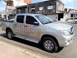 Foto venta Auto Usado Toyota Hilux 2.5 4x2 DX DC (2010) color Plata