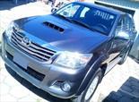 Foto venta Auto usado Toyota Hilux 3.0 4x4 SRV TDi DC Cuero (2015) color Gris Oscuro precio $985.000