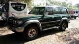 Foto venta Carro Usado Toyota Land Cruiser  70 Cabinado Largo (1995) color Verde precio $29.000.000