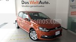 Foto venta Auto Seminuevo Volkswagen Polo 1.6L Base 4P (2017) color Naranja Metalico precio $219,000