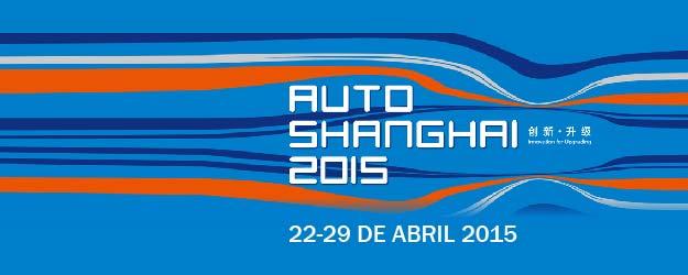 Autoshow de Shanghai 2015