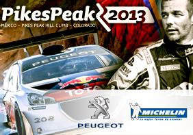 Peugeot 208 a Pikes Peak