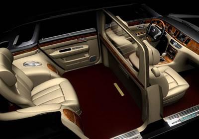 Geely Ge Concept Un Rolls Royce Pirata