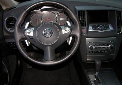 Nissan Maxima 2009 a prueba - Autocosmos.com