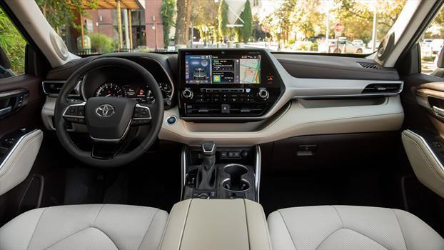 Toyota Highlander 2020 - interior