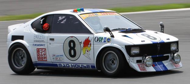 Suzuki Fronte de competición