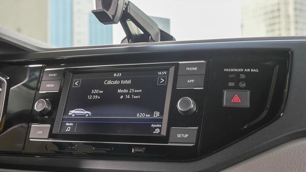 Volkswagen Virtus 2020 - Pantalla infoentretenimiento